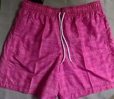 Marks Spencer M&S Blue Harbour Swim Swimming Shorts Trunks Pink 33 34 35  M