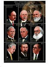 Grenadines 1995 - 1773 - Nobel Prize  - Sheet of nine  - MNH