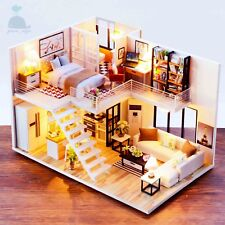 DIY Handcraft Miniature Project Wooden Dolls House The Apartment Of Elegance 18