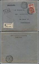 REPUBBLICA-Isolato 80 L Da Vinci(688)-Raccomandata GATTINARA 16.5.1953