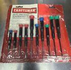 Craftsman+Mini+Precision+10+pc+Screwdriver+Set+Made+In+USA+41633++micro+tech