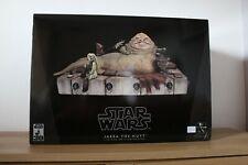 Star Wars Gentle Giant Jabba the Hutt w Bib Fortuna and Palace Band