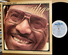 M&K D2D LP RT-105: EARL FATHA HINES - Plays the Hits He Missed - TAS 1978 USA