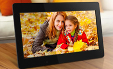 """PAN 10"""" inch Digital Photo Frame **Touch Screen** WiFi Video MP3 IPS LCD Panel"""