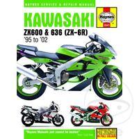 Kawasaki ZX-6R 600 J Ninja 2001-2002 Haynes Service Repair Manual 3541