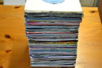 "INSTANT STARTER RECORD COLLECTION  20 X 7"" VINYL ALL 1980s  PLAIN  SLEEVES. VG"