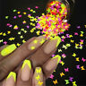 Lot 3D Butterfly Flakes Holographic Laser Nail Decoration Nail Glitter Sequins