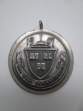 The Speakers Club Harvard University Sterling Silver Medal Wood & Sons 1907 1941