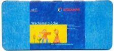 Stockmar Crayons Tin of 16 blocks Drawing Painting Supplies Beeswax