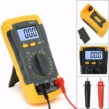 Digital Multimeter Voltmeter LCD AC/DC Ohmmeter Ammeter Capacitance OHM Tester