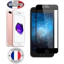 Protection d'Ecran en Verre Trempé Face Avant Noir pour Apple iPhone 7 Plus