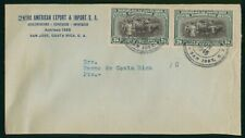 Mayfairstamps Costa Rica 1946 San Jose Commercial cover wwo1637