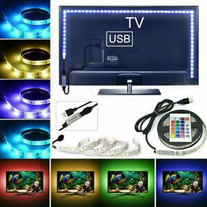 USB LED Strip Light TV backlight 5050 RGB 30smd/m Light Color Changing Light 5M