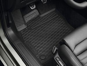 VW Passat Fußmatten Gummi Vorne+Hinten schwarz 3G1061500A 82V