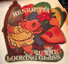 VTG 70's New Zoo Henrietta Hippo Review Saturday Morning TV Show t-shirt Iron-On
