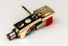 Gold Headshell, cartridge, stylus for Pioneer PL560, PL200, PL516, PL255, ATR