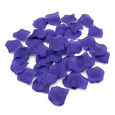 Purple Silk Rose Petal 600 Pieces For Wedding Party Favors Arts and Crafts