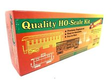 Roundhouse Ho Scale Train Kit Quality | 34' Overton Passenger Car Series | #7530