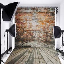 5x7Ft Retro Vinyl Brick Wall Background Studio Photography Photo Props Backdrop