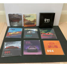 PORSCHE 911 8 Pieces Novelty Glass Coaster