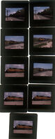 Nine 1999 kodachrome Photo slides Union Pacific railroad Train
