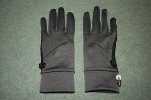 North Face Women Gloves Black Medium cycle running slim fit UR powered