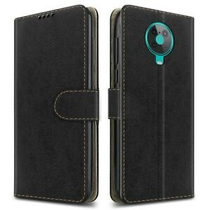 For Nokia G10 Leather Wallet Case Magnetic Flip Stand Phone Cover + Screen Guard