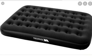 Trespass Double Flocked Air Bed