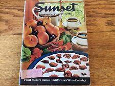 Sunset Magazine September 1966 Napa California Wine Country, Desert Home, Utah