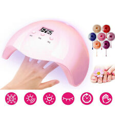 36W Pink Nail Phototherapy Machine Uv Led Professional Quick-Drying Curing Nail