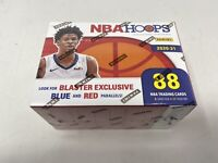 Panini 2020-21 NBA Hoops Basketball Mega Box (144 Cards) Brand New Sealed