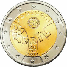 2 EUROS PORTUGAL 2014. MONEDA CONMEMORATIVA - 25 DE ABRIL. S/C
