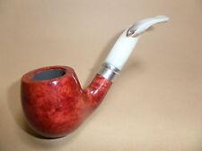 pipe passatore pipe - Naturel / Anneau chromé - mod. 1478 -