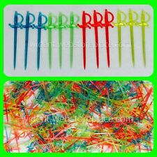 1000ct Multi Colored Cocktail Swords Pick Food Picks