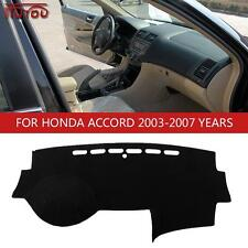 Inner Dashboard Dash Mat Sun Cover Pad Fit For Honda Accord 7MK 2003-2007