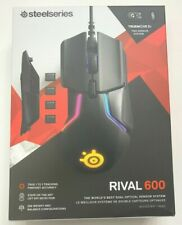 NEW SteelSeries Rival 600 Gaming Mouse Rival600 Black Steel Series Wired USB