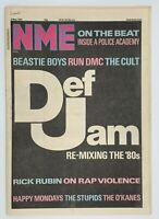 NME  9 May 1987 Def Jam Beastie Boys Run Dmc Happy Mondays Stupids O'Kanes
