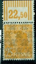 Echte postfrische deutsche Briefmarken der alliierten Besatzung