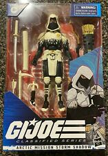 G.I. JOE CLASSIFIED ARTIC MISSION STORM SHADOW FIGURE EXCLUSIVE