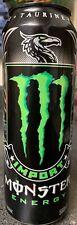 NEW IMPORT MONSTER ENERGY DRINK 18.6 FL OZ FULL CAN TAURINE B VITAMINS L-CARNITI