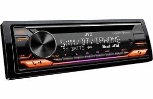 JVC KD-T91BTS CD USB AUX BLUETOOTH 13 BAND EQUALIZER 200W RADIO AMPLIFIER NEW