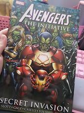 Marvel Comics Avengers The Initiative Secret Invasion Hardcover BRAND NEW!