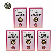 Zinc oxide 20gm Free Shipping Worldwide Pack of 5