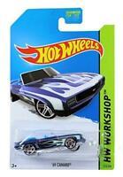 Hot Wheels 1:64 Diecast Model - 69 Camaro #213 - Hot Wheels Workshop