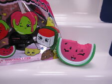 Squish Dee Lish Shopkins Series 1 Watermelon Slice Slow Rise Squeeze NEW open