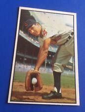 1953 Bowman Color Roberto Avila Cleveland Indians #29 Baseball Card EX-MT