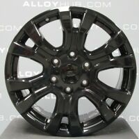 """GENUINE FORD RANGER WILDTRAK 2011-2020 18"""" INCH BLACK ALLOY WHEELS AND TYRES X4"""