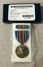 Global War on Terrorism/Expeditionary- Regular Size. Includes Medal and Ribbon