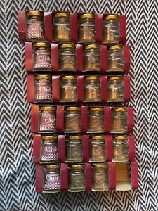 New 23 Kilner Spice Jars