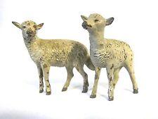 Antique Vienna Bronze set of 2 sheeps (#907)